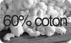 logo reduit 60 % coton