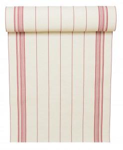 rondelette coton rayée rouge