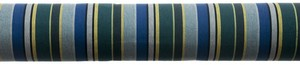 tam zoom toile coton bleu vert