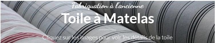 Toile à Matelas fabriquée en France