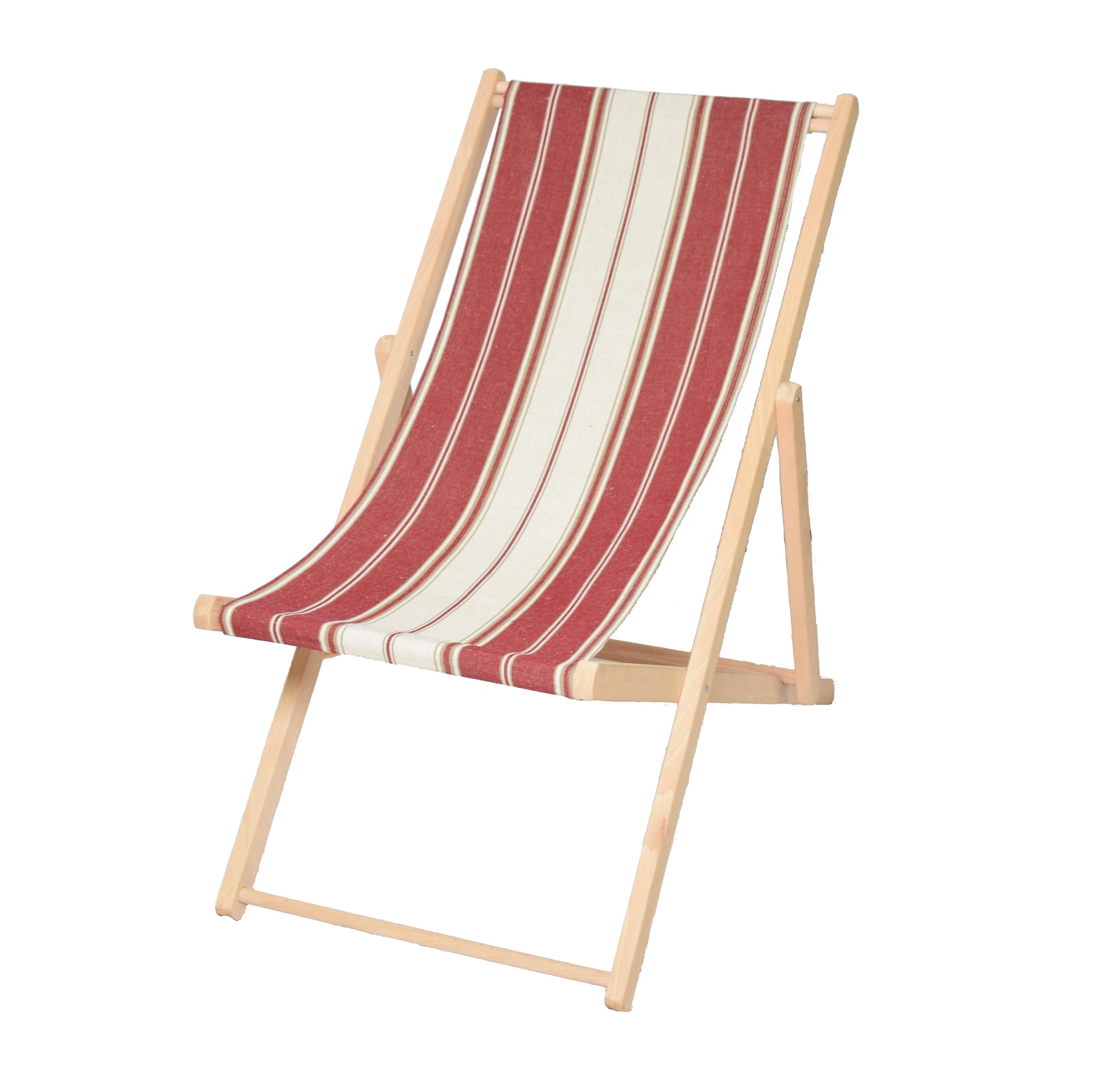 Toile transat pour chaise longue grenat fabriqu en france for Changer toile chaise longue